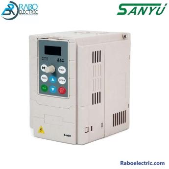 اینورتر 0.4KW - 0.5HP سانیو ورودی تکفاز سری SY2000